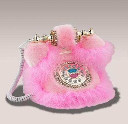 Посмотрели картинку под названием 'Розовый телефон.