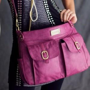 Стильная женская сумочка для фотоаппарата Kelly Moore fuscia-cat 1...